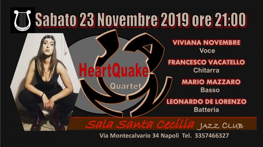 HEARTQUAKE Live Jazz Quartet